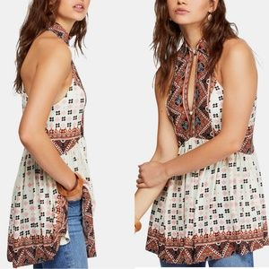 NWT Free People Charlotte Sleeveless Top Tunic